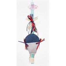 Πασχαλινή λαμπάδα υφασμάτινο αερόστατο